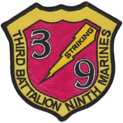 3rd Bn 9th Marines Patch