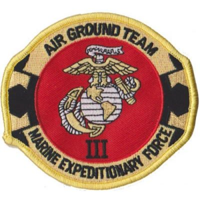 3rd Marine Expeditionary Force Patch