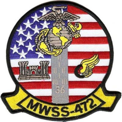 Marine Wing Support Squadron 472 Patch