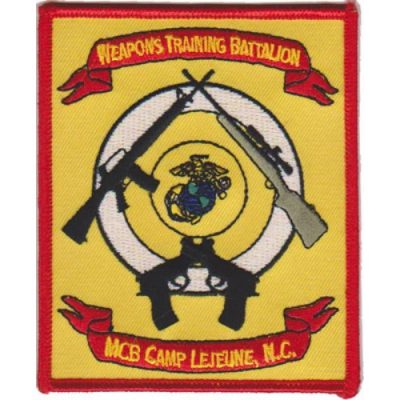 Weapons Training Bn Patch
